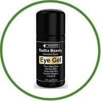 Radha Beauty Intensive Youth Eye Gel For Dark Circles, Puffiness, Bags & Wrinkles